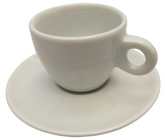 Xicara de Cafe com Pires em Porcelana Italia Germer