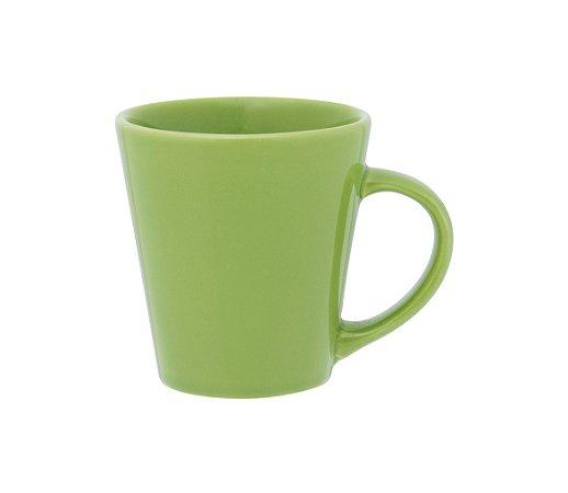 Caneca de Louca Drop Biona Oxford Verde  250 Ml