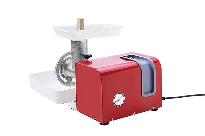 Moedor e Extrusor de Carnes Eletrico Stang Anodilar  Vermelho   220 V