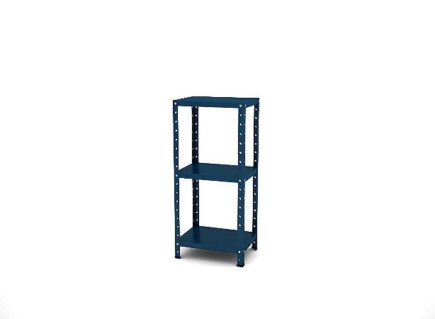 Estante de Aco Multiuso De Canto Pandin Azul Del Rey 90 Cm