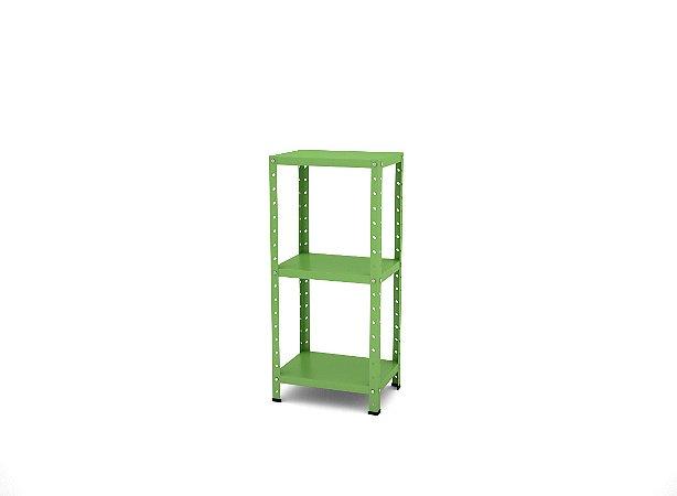 Estante de Aco Multiuso De Canto Pandin Verde Miro 90 Cm