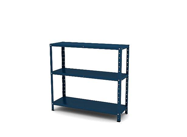 Estante de Aco Multiuso Pandin Azul Del Rey 90 Cm