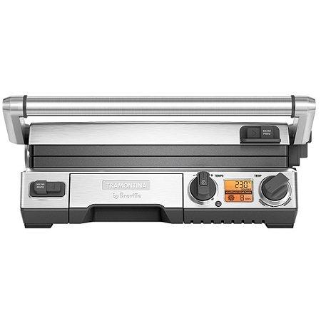 Grill Eletrico com Display Lcd Smart Grill Tramontina 110 V