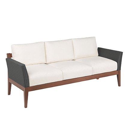 Sofa em Jatoba com Acabamento Eco Blindage Tramontina Preto 70 Cm