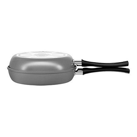 Omeleteira Antiaderente Salsa Brinox Cinza 18 Cm