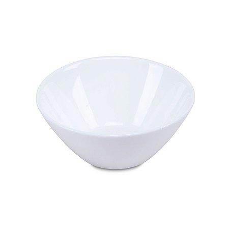 Saladeira Pequena Vidro Temperado Opaline Nadir Figueiredo Branco 13 Cm 390 Ml