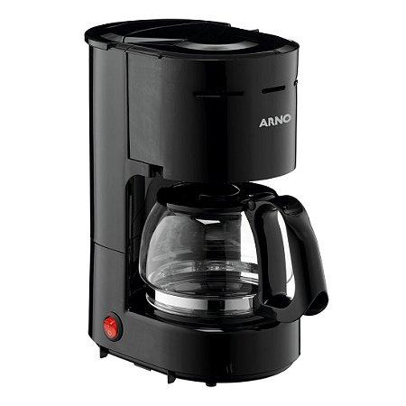 Cafeteira Eletrica para 12 Cafes Filtro Arno Preto   220 V