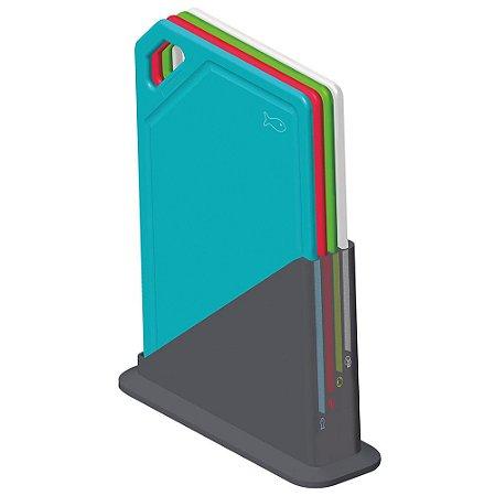 Conjunto de Tabuas 5 Pecas em Polipropileno Mixcolor Tramontina Colorido