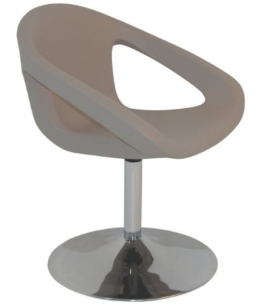 Cadeira em Polietileno Base Central Casa Delta Tramontina Cinza 53 Cm