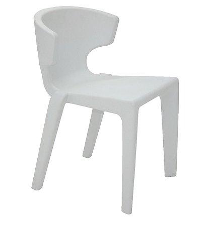 Cadeira Marilyn em Polietileno Sem Bracos Casa Delta Tramontina Azul 75 Cm