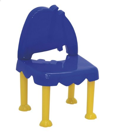 Cadeira Infantil Monster Kids Tramontina Azul 30 Cm