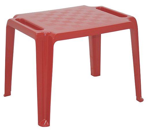 Mesa Infantil Dona Chica Tramontina Vermelho 64 Cm