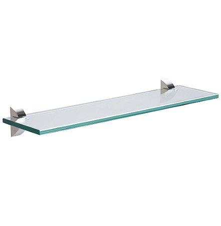 Prateleira de Vidro Reta Glass Tramontina 60 Cm