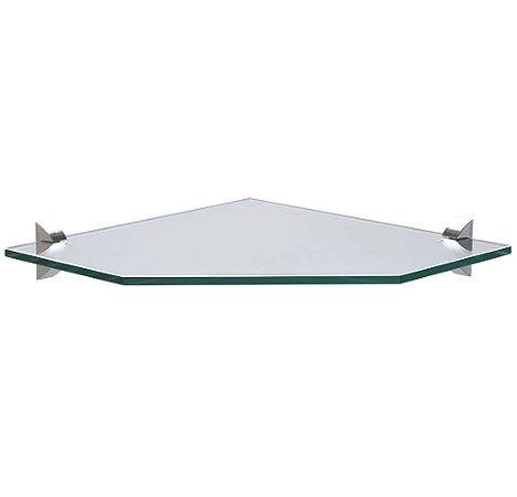 Prateleira de Vidro Canto Glass Tramontina 25 Cm