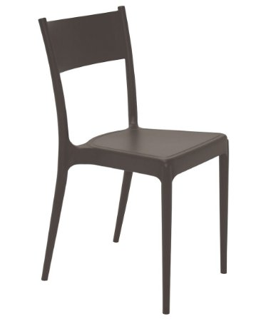 Cadeira em Polipropileno Summa Tramontina Marrom 82 Cm