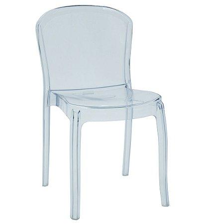 Cadeira em Policarbonato Summa Tramontina Transparente 82 Cm