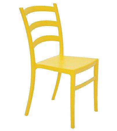 Cadeira em Polipropileno Summa Tramontina Amarelo 50 Cm