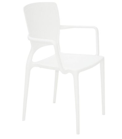 Cadeira em Polipropileno Summa Tramontina Branco 84 Cm