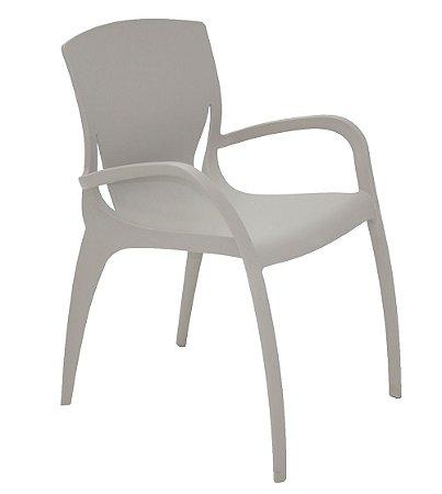 Cadeira em Polipropileno Summa Tramontina Cinza 79 Cm