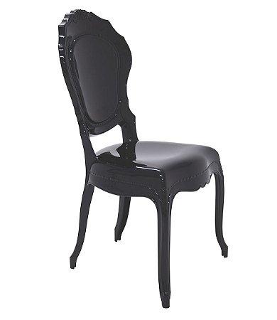 Cadeira em Policarbonato Summa Tramontina Preto 55 Cm