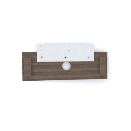 Painel Central para Tv Pe 40 Pandin Walnut 30 Cm 1,20 M