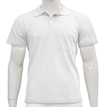 Camisa Polo com Bolso - Várias Cores
