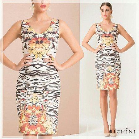 Vestido Estampado Floral - Richini