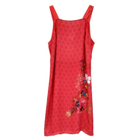 Vestido de Alça com Estampa - Malwee
