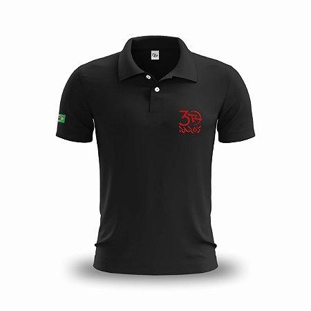 Uniforme - Camisa Polo Personalizada com Bordado - P ao GG