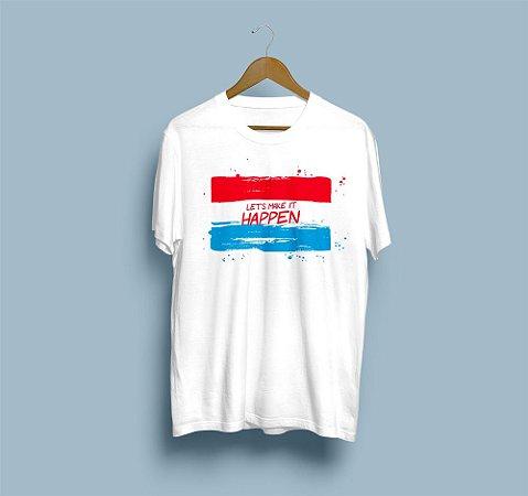 Camisa Básica Let´s make it happen