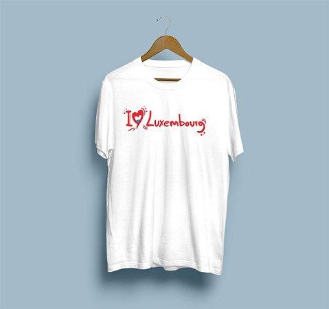 Camisa Básica i Love Luxembourg 2