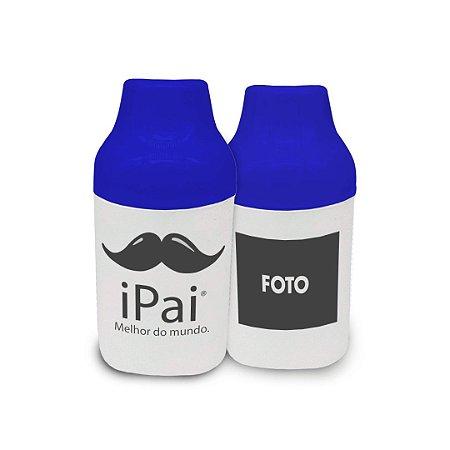 Porta Latas/Litrinho Personalizado - Dia dos Pais Mod. 02