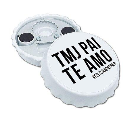 Abridor De Garrafas Imã Personalizado Dia Dos Pais Mod. 05