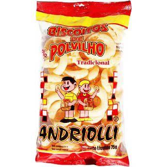 BISCOITO POLVILHO ANDRIOLI 75GR TRADICIONAL