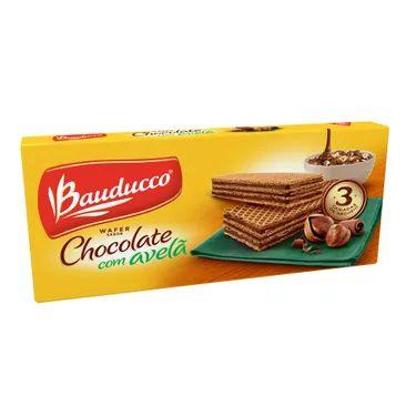 WAFER BAUDUCCO 140GR CHOCOLATE COM AVELA