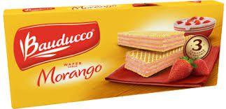 WAFER BAUDUCCO 140GR MORANGO