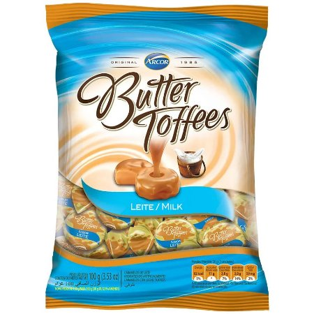 BALA BUTTER TOFFEES 100G LEITE