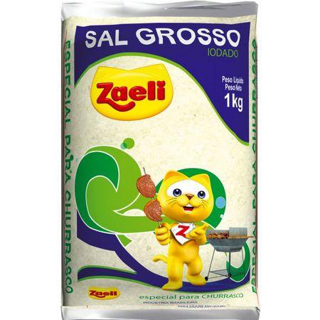 SAL P/CHURRASCO ZAELI 1KG GROSSO