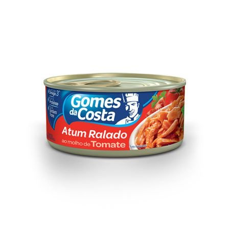 ATUM GOMES DA COSTA 170GR RALADO AO MOLHO DE TOMATE