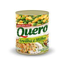 ERVILHA E MILHO QUERO 200GR LATA