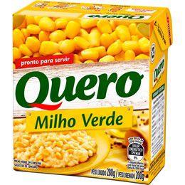 MILHO VERDE QUERO 200GR CAIXA