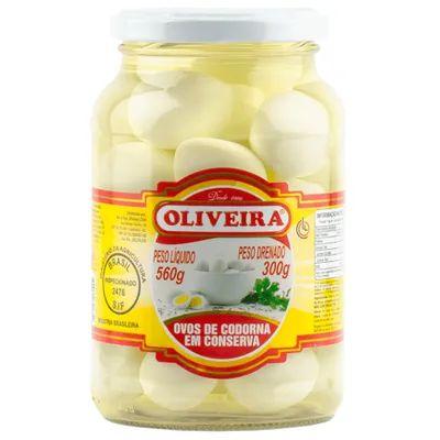 OVOS CODORNA OLIVEIRA 300GR