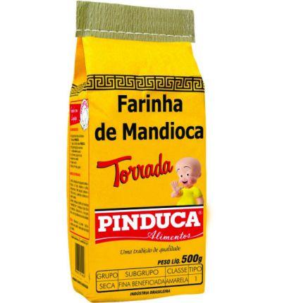 FARINHA DE MANDIOCA PINDUCA 500GR TORRADA