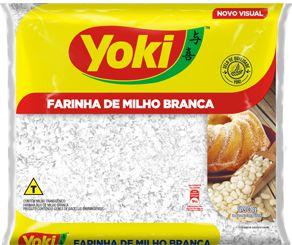FARINHA DE MILHO YOKI 500GR BRANCA