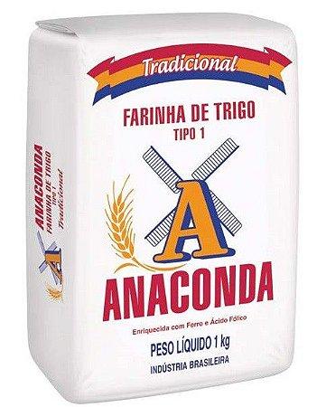 FARINHA DE TRIGO ANACONDA 1KG ESPECIAL