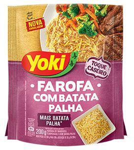 FAROFA YOKI 200GR BATATA PALHA