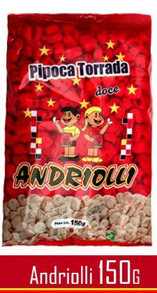 PIPOCA DOCE ANDRIOLLI 150GR
