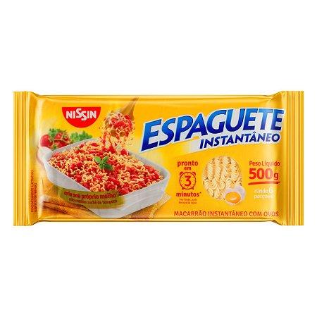 ESPAGUETE INSTANTÂNEO NISSIN 3 MINUTOS MIOJO 500GR