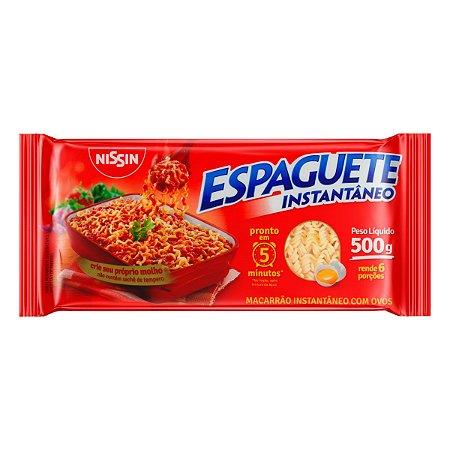 ESPAGUETE INSTANTÂNEO NISSIN 5 MINUTOS MIOJO 500GR