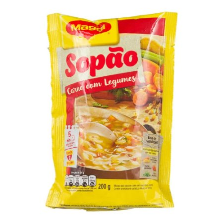 SOPÃO MAGGI 200GR CARNE
